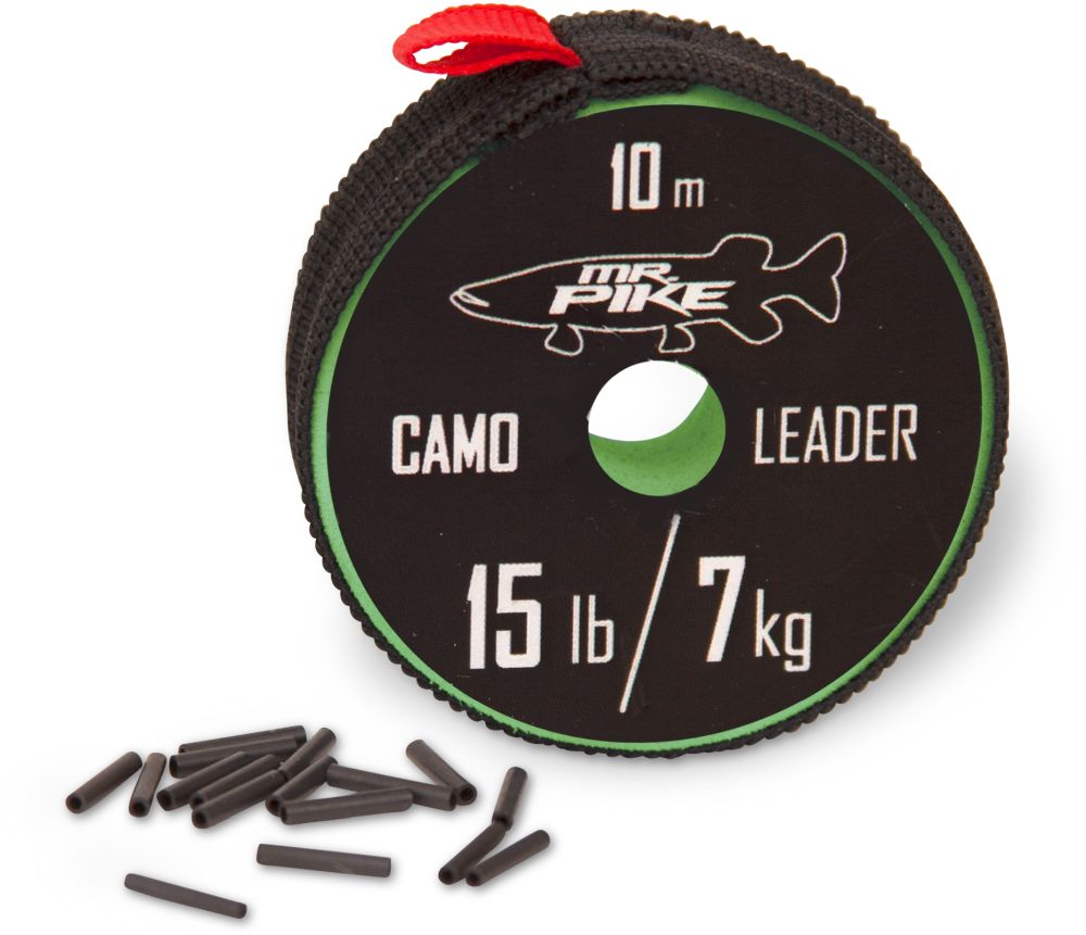 Mr. Pike Camo Coated Leader Material